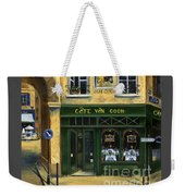 Cafe Van Gogh Paris Weekender Tote Bag by Marilyn Dunlap