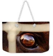 Caged Buffalo Reflects Weekender Tote Bag