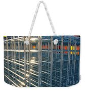 Caged Fire Weekender Tote Bag