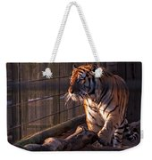Caged King Of The Jungle Weekender Tote Bag