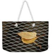 Caged Leaf Weekender Tote Bag