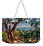 Cagnes Landscape With Woman And Child 1910 Weekender Tote Bag