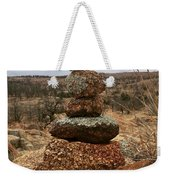 Cairn On The Mountain Weekender Tote Bag