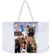 Cairn Terrier Art Canvas Print - Best In Show Movie Poster Weekender Tote Bag