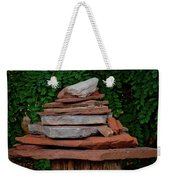 Cairns Rock Trail Marker Bluff Utah 01 Weekender Tote Bag