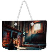 Cairo, Egypt -  Interior Of A Room In The Famous Bayt Al Suhaymi Located At Al Muizz Street In Cairo Weekender Tote Bag