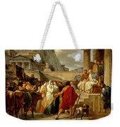 Caius Furius Cressinus Accused Of Sorcery Weekender Tote Bag