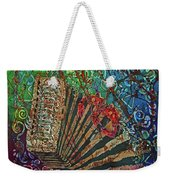 Cajun Accordian Weekender Tote Bag
