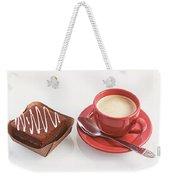 Cake And Cup Of Coffee Weekender Tote Bag