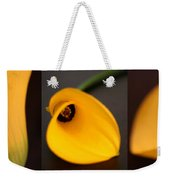Cala Lily Tryptych Weekender Tote Bag