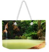 Caldeira Velha Thermal Pool Weekender Tote Bag