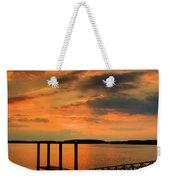 Calibogue Dock Weekender Tote Bag