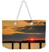 Calibogue Sound Sunset Weekender Tote Bag
