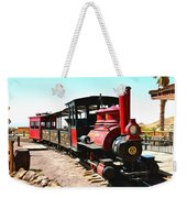 Calico And Odessa Rail Road Weekender Tote Bag