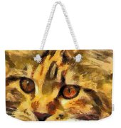 Calico Cat Weekender Tote Bag