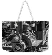 Calico Odessa Train In Black And White Weekender Tote Bag