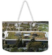 California Academy Of Sciences Living Roof In San Francisco Weekender Tote Bag