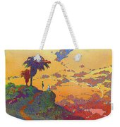 California - America's Vacation Land And New York Central Lines - Retro Travel Poster - Vintage Weekender Tote Bag