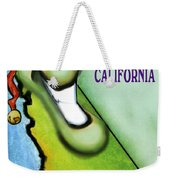 California Christmas Weekender Tote Bag