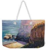 California Cliffs Weekender Tote Bag