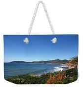California Coast Line - Pismo Beach Weekender Tote Bag