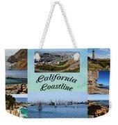 California Collage Weekender Tote Bag