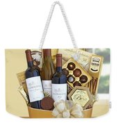 California Golden Bubbles Valentine Wine Gift  Weekender Tote Bag