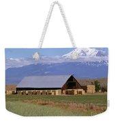 California Hay Barn Weekender Tote Bag