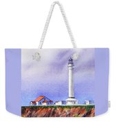 California Lighthouse Point Arena Weekender Tote Bag