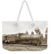 California Northwestern Railroad #30 4-6-0 Baldwin Locomotive Works Circa 1905 Weekender Tote Bag