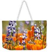 California Poppies And Lupine Weekender Tote Bag