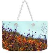 California Poppies And Wildflowers Weekender Tote Bag