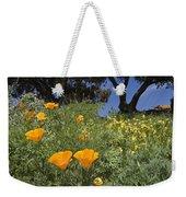 California Poppy Eschscholtzia Weekender Tote Bag