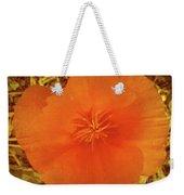 California Poppy Glow Weekender Tote Bag