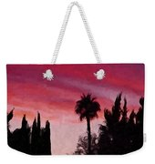 California Sunset Painting 1 Weekender Tote Bag
