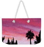 California Sunset Painting 2 Weekender Tote Bag