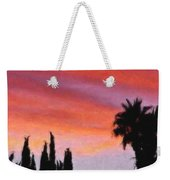 California Sunset Painting 3 Weekender Tote Bag