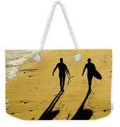 California Surfers On The Beach Weekender Tote Bag
