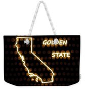 California - The Golden State Weekender Tote Bag