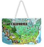 California Usa Weekender Tote Bag