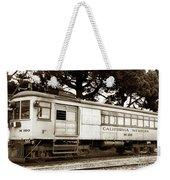 California Western  M 100 Gas Railcar  Skunk Train  Circa 1930 Weekender Tote Bag
