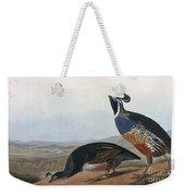 Californian Partridge Weekender Tote Bag