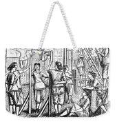 Calisthenics, 1867 Weekender Tote Bag