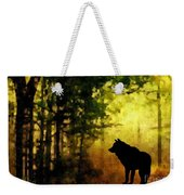 Call Of The Wolf Weekender Tote Bag