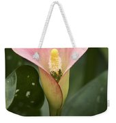 Calla In The Mist Weekender Tote Bag