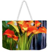 Calla Lilies Bouquet Weekender Tote Bag