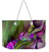 Calla Lilies Weekender Tote Bag by Carol Cavalaris