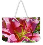 Calla Lily Art Prints Pink Lilies Flowers Baslee Troutman Weekender Tote Bag