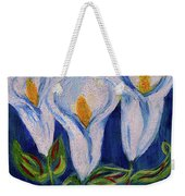 Calla Lily, Impressionism Art Weekender Tote Bag