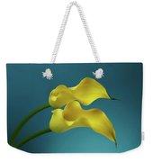 Calla Lilyies Weekender Tote Bag by Sergey Taran
